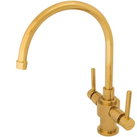 polished brass kitchen faucets kingston brass ks7702dlls two lever handles kitchen faucet