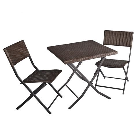 bistro table and chair set 3 piece table and chairs patio deck outdoor bistro cafe