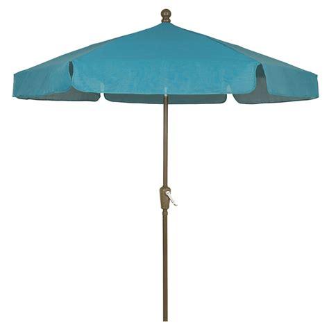 teal 7 5 hexagon garden umbrella