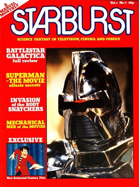 STARLOGGED - GEEK MEDIA AGAIN: 1979: STARBURST MAGAZINE ...
