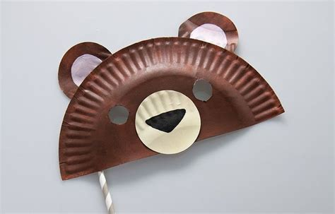 diy bear halloween mask teddy bear crafts bear
