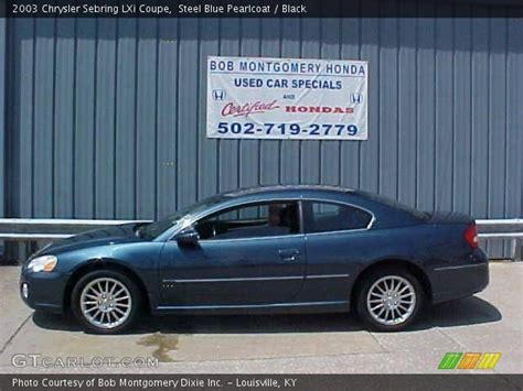 2003 Chrysler Sebring Lxi Coupe by Steel Blue Pearlcoat 2003 Chrysler Sebring Lxi Coupe