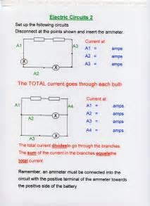Parallel Electrical Circuit Diagram