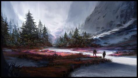 fantasy art nature wallpapers hd desktop  mobile