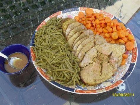cuisine agneau gigot d 39 agneau farci accompagnement légumes photo de