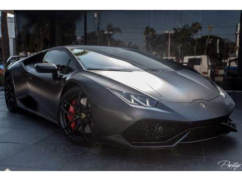 2015 Lamborghini Huracan Coupe Matte Black For Sale