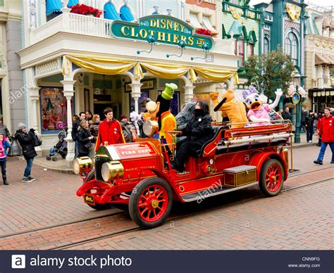 Disneyland Ride Fire Truck