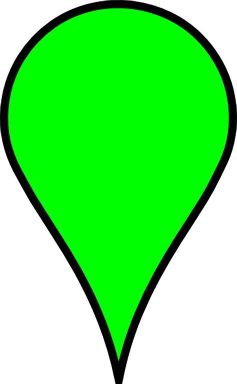 google maps icon green clip art  clkercom vector