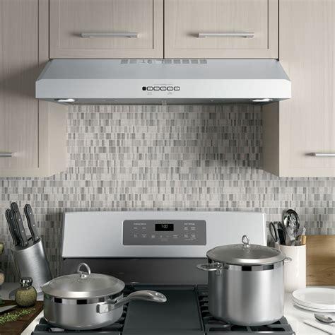 jvxsjss ge   cabinet range vent hood stainless steel