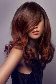 Orange Brown Hair with Highlights