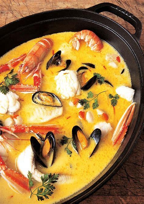 recette la marmite dieppoise avec poissons  crustaces