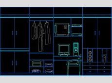 Closet DWG Elevation for AutoCAD • Designs CAD
