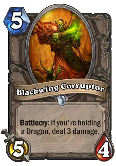 shaman deck blackrock blackwing corruptor hearthstone card