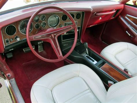 pontiac grand prix interior classic car interiors