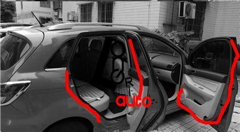 2018 Autoparts Car Door Rubber Seal Strip Weatherstrip