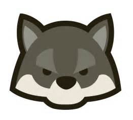 Cartoon Wolf Head Clip Art
