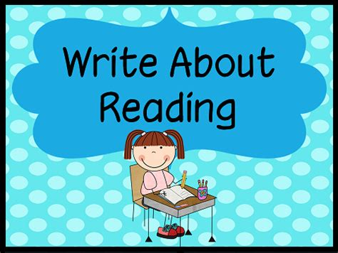 Down Under Teacher Daily 5 Write About Reading