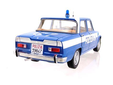 volante polizia alfa romeo giulia 1600cc polizia 1970 squadra