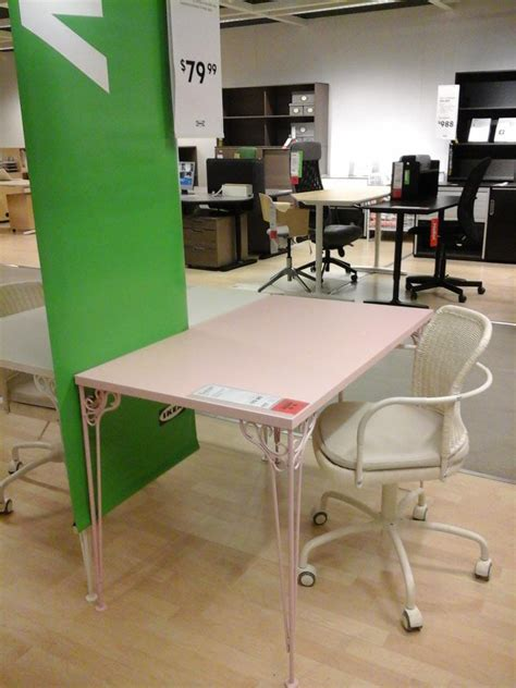 Pink Desk Ikea by Ikea Stoughton On Quot Check Out This New Pretty In