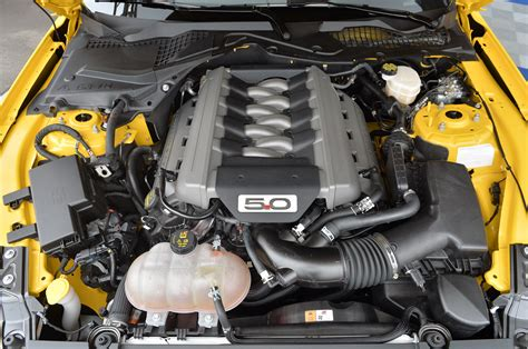 Photo Gallery The 2015 Ford Mustang Gt Engine Bay In