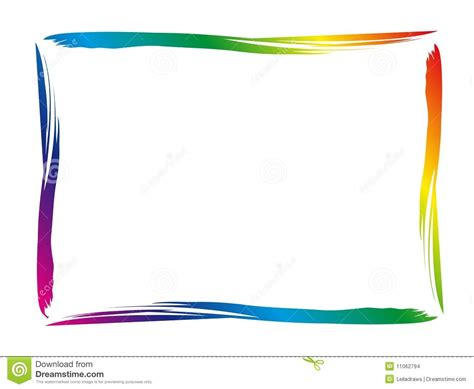 colorful border clip borders and corners colorful border for your