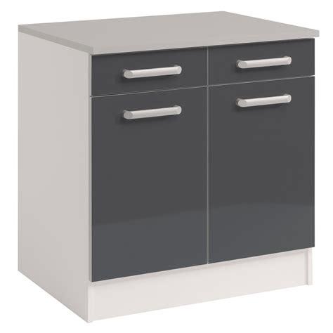 cuisine meubles gris cuisine pas cher