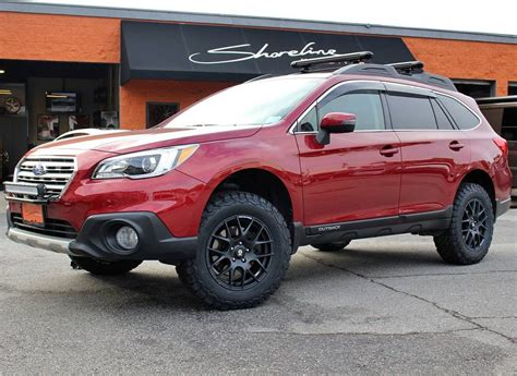 subaru lifted brand subaru model outbackyear 2017couleur red