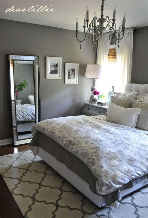 grey wall room ideas dear lillie some finishing touches to our gray guest bedroom home decorating inspiration