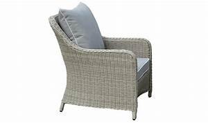 Fauteuil En Resine : fauteuil de jardin en r sine tress e grise claire grace ~ Teatrodelosmanantiales.com Idées de Décoration