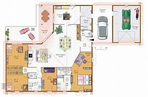 grande maison 4 chambres avec terrasse garage et carport With plan de maison original