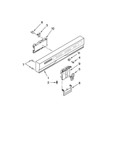 Kitchenaid Dishwasher Parts by Kitchenaid Dishwasher And Motor Parts Model