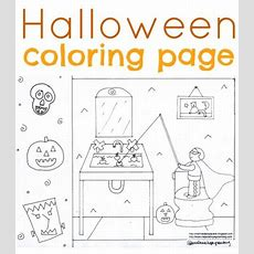 Free, Sweetest Treet Halloween Coloring Page For Kids