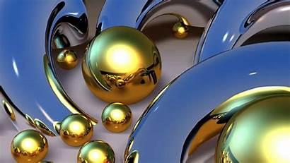 3d Gold Balls Desktop Backgrounds Iphone Amazing