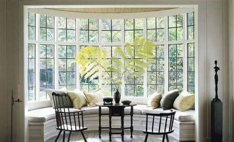 bay window ideas   treatments included