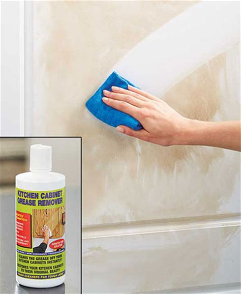 kitchen cabinet grease remover kitchen cabinet grease remover the lakeside collection 5432