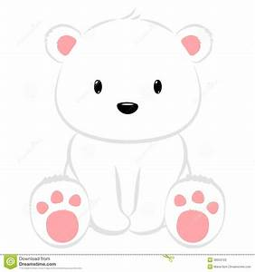 polar-bear-cute-cartoon-baby-seated-38504723.jpg (1300 ...