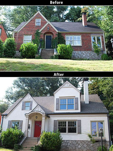 house renovation before and after before and after home renovations on behance