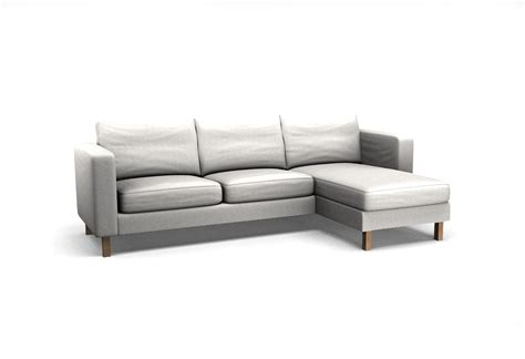 Copridivano 2 Posti Chaise Longue : Karlstad Two-seat Sofa And Chaise Longue Right Cover