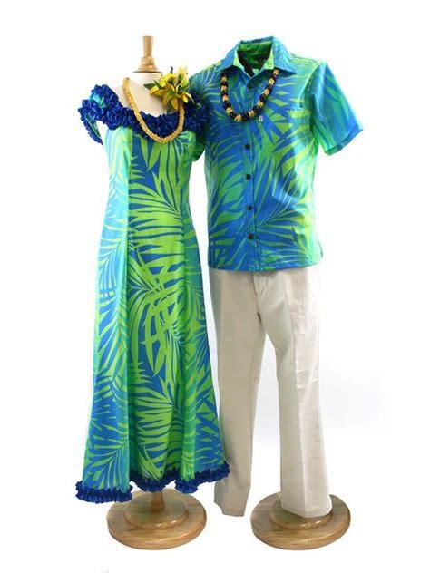 109 best Matching Hawaiian Outfits images on Pinterest | Hawaiian dresses Hawaiian outfits and ...