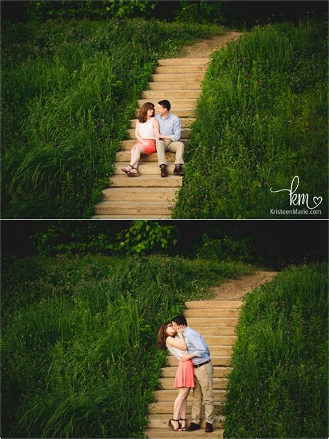 avon town hall park engagement session brittany  brian