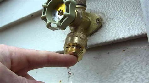 How To & Repair  Outdoor Faucet Repair Outdoor Faucet