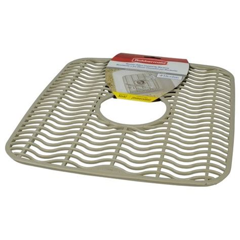 rubbermaid kitchen sink protectors rubbermaid small sink protector tan jet com