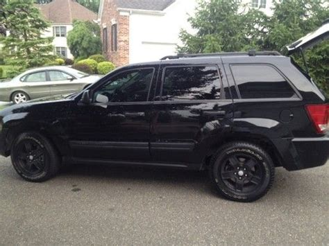 jeep cherokee blacked out find used 2006 jeep grand cherokee laredo blacked out in