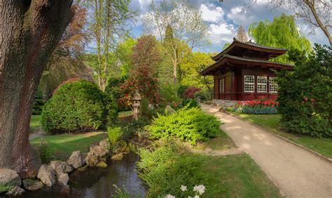 Japanischer Garten  Brennweite Welt