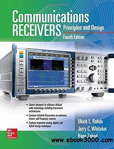 Communications Receivers  Principles And Design  Fourth