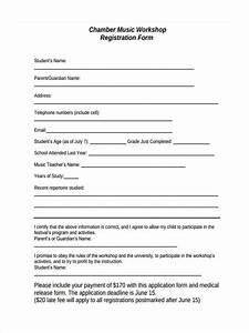 format of registration form for workshop images download With sample workshop registration form template