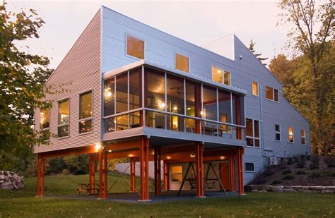 maison 224 ossature m 233 tallique par birdseye design