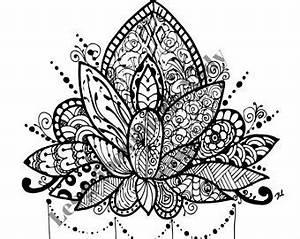 Dessin Fleurs De Lotus : mandala lotus coloriage greenhero ~ Dode.kayakingforconservation.com Idées de Décoration