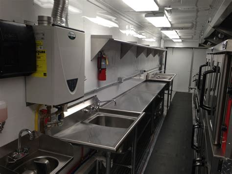 Large 48-foot Used Mobile Kitchens For Sale