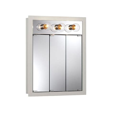 medicine cabinet with lights built in lighted medicine cabinet 19 nutone medicine cabinets